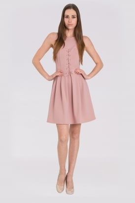WalG Corset Style Skater Dress