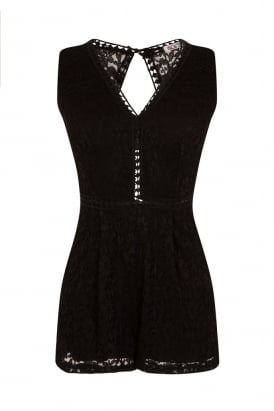 WalG Cut Out Playsuit