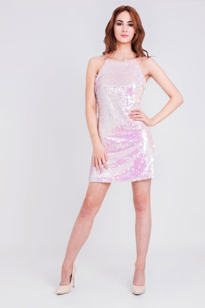 WalG Disco Sequin Mini Dress
