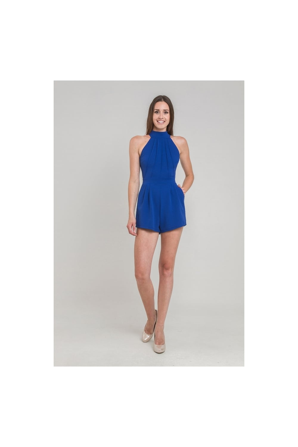 f5dfe443cf WALG HIGH NECK PLAYSUIT