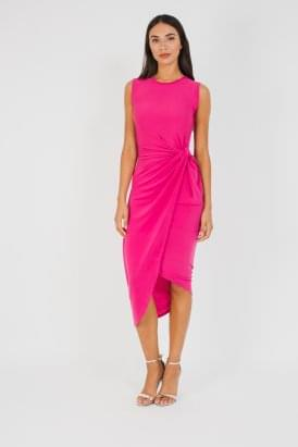 WalG Knot Tie Dress