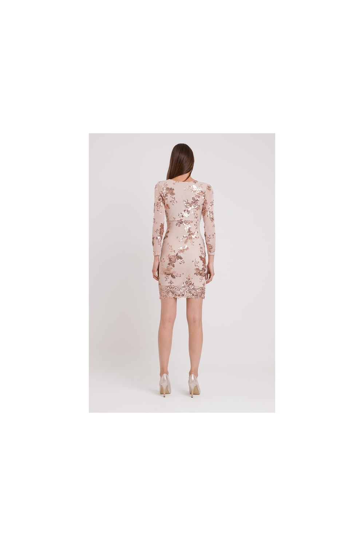 4b61ffc5ea9f4 WALG SEQUIN FULL SLEEVE MINI DRESS | WALG PARTY DRESSES