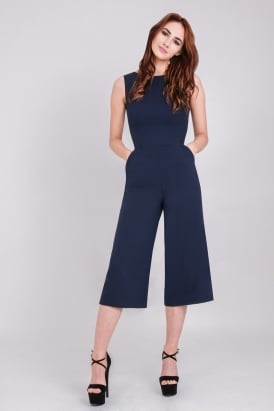 7755a8663980 WalG Tie Culottes Jumpsuit
